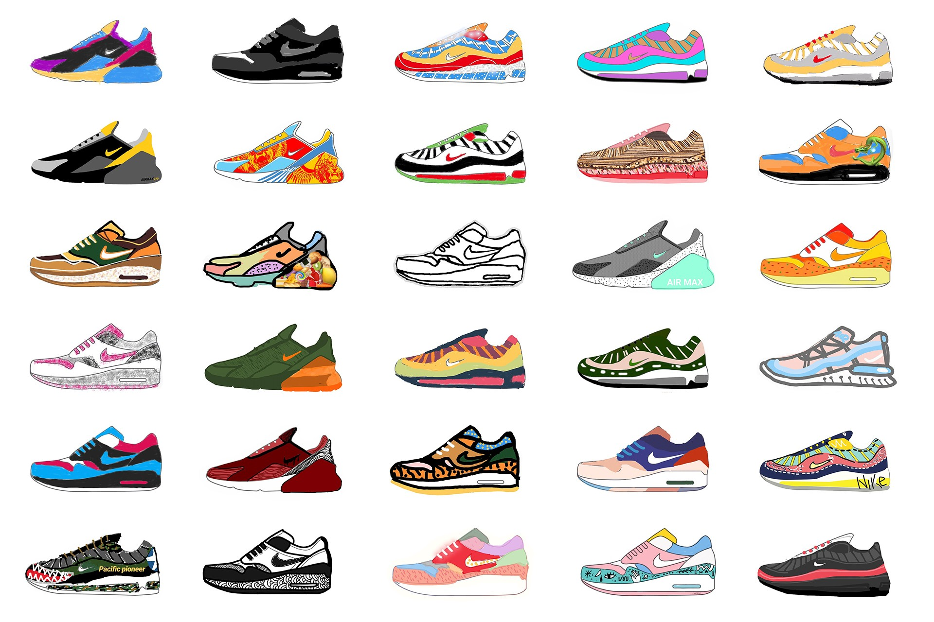 Studio 1212 | Project Whiteboard Journal x Air Max Day 2018