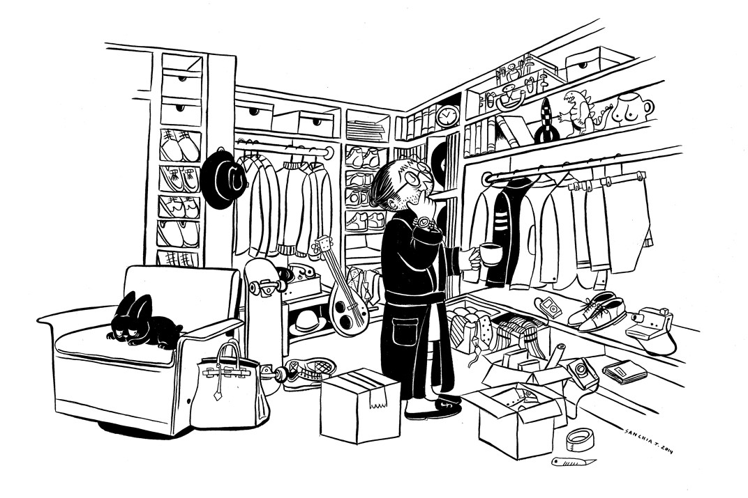 """""""Sell With Us"""" illustrations (by Sanchia) – STEP 1 – Prepare Your Items"""