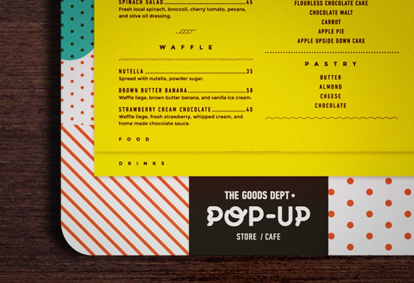 The Goods Dept - The Goods Dept Pop-Up Store/Cafe