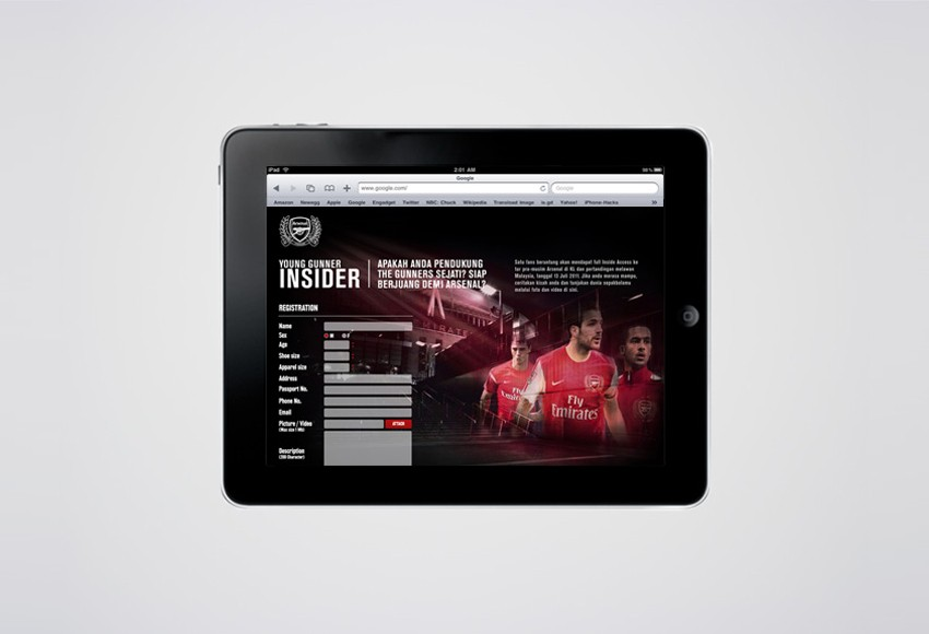 Nike Indonesia - Nike Football - Arsenal