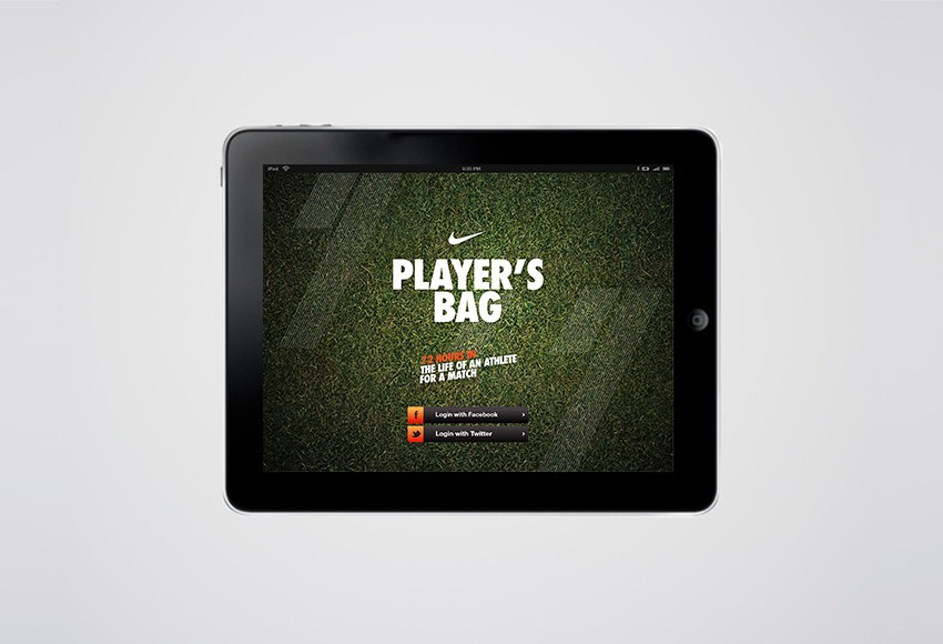 Nike Indonesia - Nike Players Bag (iPad Apps)