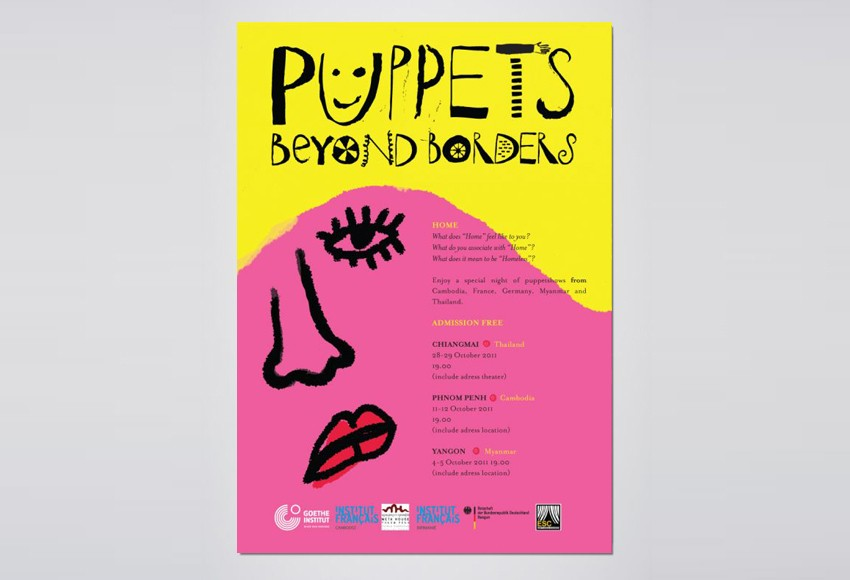 Goethe Institut - Puppets Beyond Borders