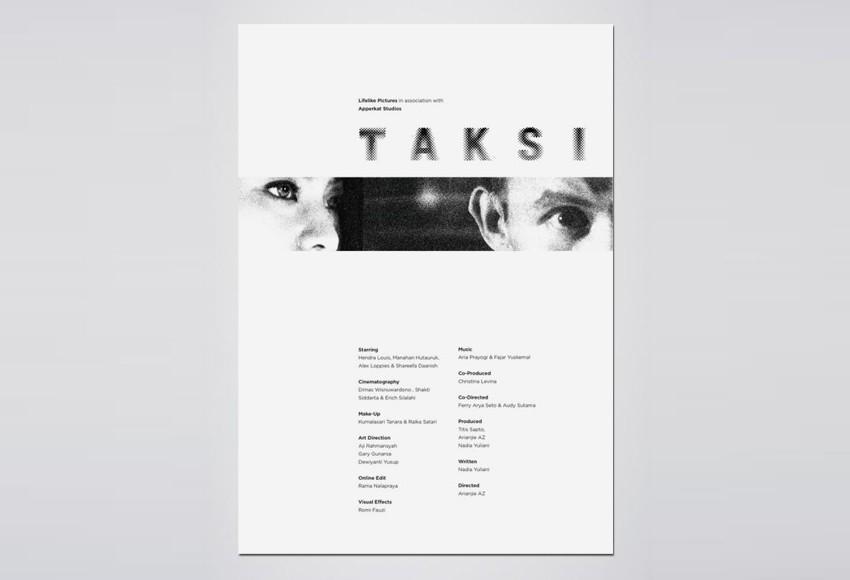 Apperkat Studio - Taksi Film Poster